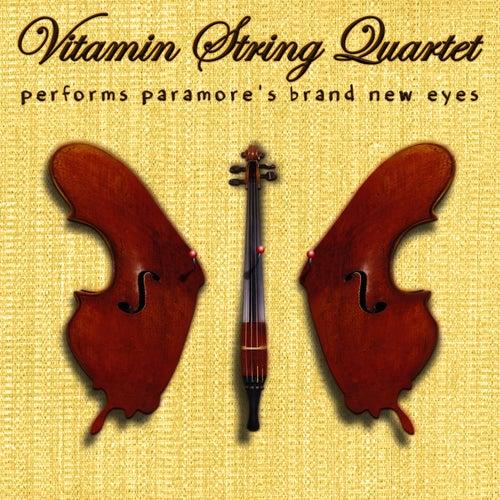 Vitamin String Quartet Performs Paramore's Brand New Eyes de Vitamin String Quartet