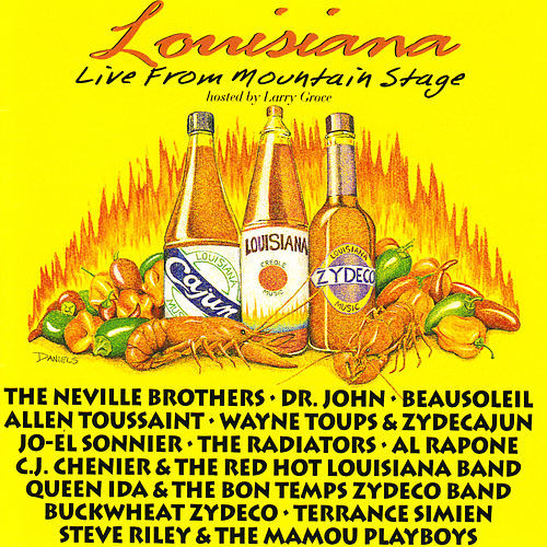 Louisiana: Live from Mountain Stage by Various Artists
