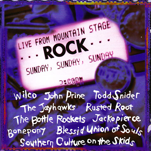 Rock Live from Mountain Stage von Various Artists