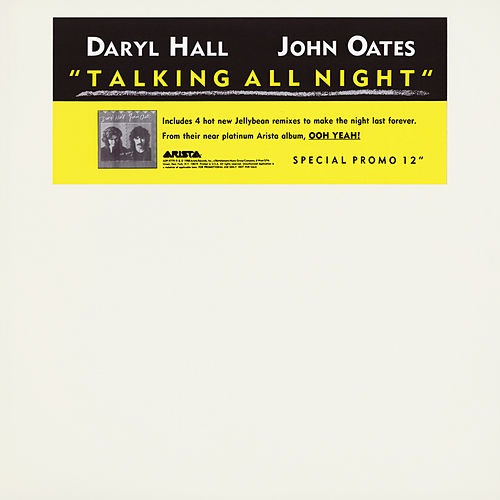 Talking All Night EP by Daryl Hall & John Oates