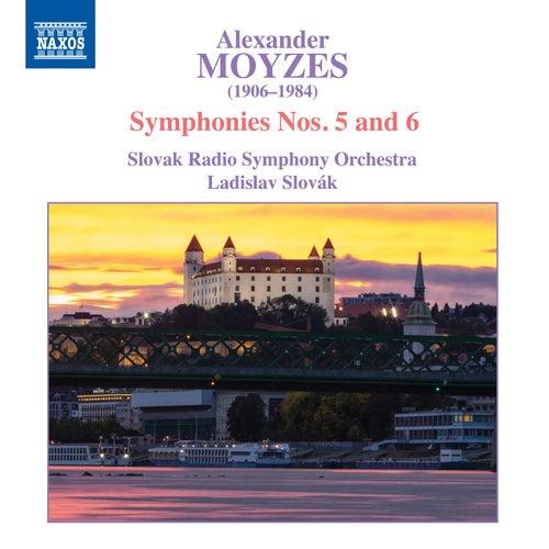 Moyzes: Symphonies Nos. 5 & 6 de Slovak Radio Symphony Orchestra