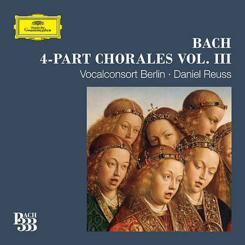 Bach 333: 4-Part Chorales (Vol. 2) by Vocalconsort Berlin