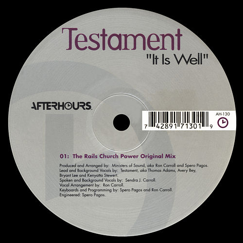 It is Well by Testament