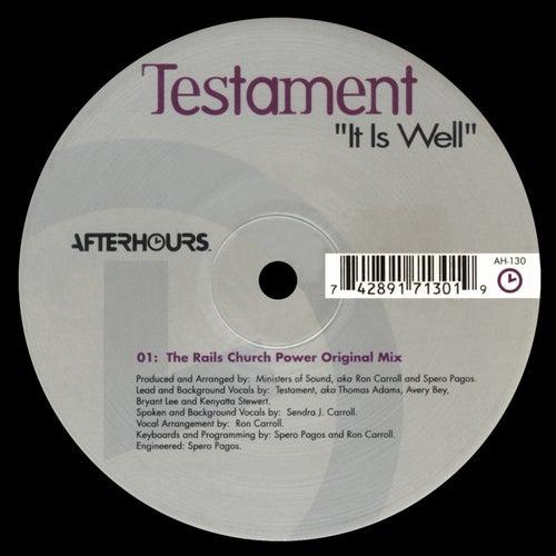 It is Well de Testament