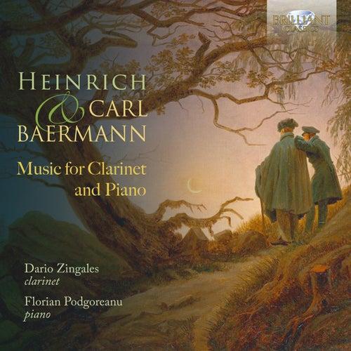 Heinrich & Carl Baermann: Music for Clarinet and Piano de Dario Zingales