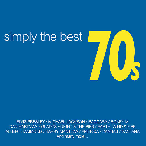 Simply the Best Seventies de Various Artists