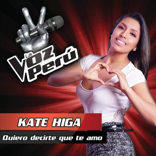 Quiero Decirte Que Te Amo by Kate Higa