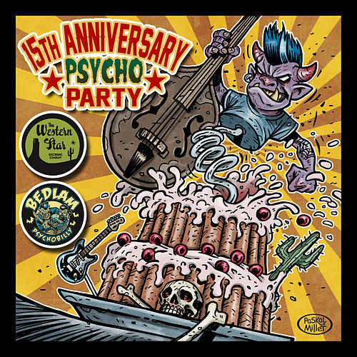 15th Anniversary Psycho Party by Various Artists