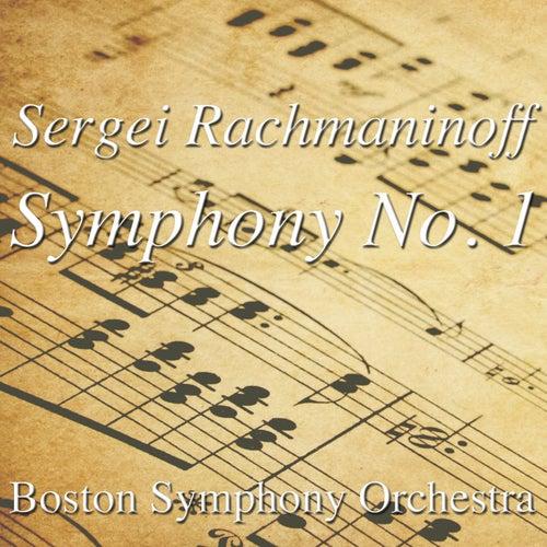 Sergei Rachmaninoff Symphony No. 1 von Boston Symphony Orchestra