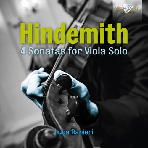 Hindemith: 4 Sonatas for Viola Solo by Luca Ranieri