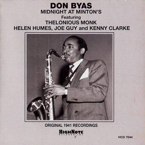 Midnight at Minton's (Original 1941 Recordings) by Don Byas