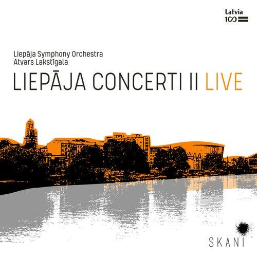Liepāja Concerti II Live von Liepāja Symphony Orchestra