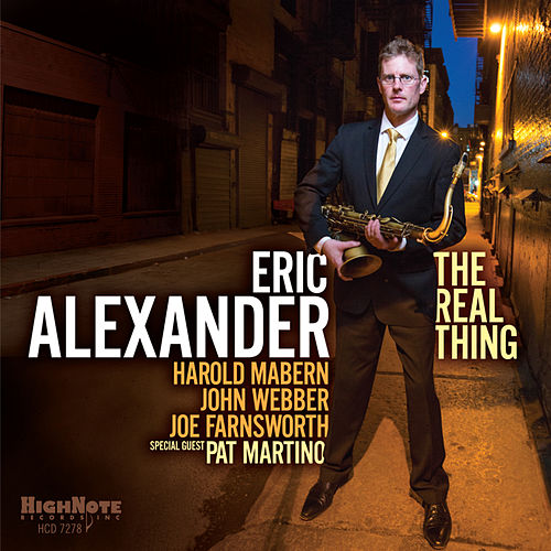 The Real Thing de Eric Alexander