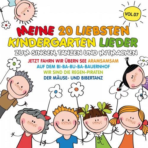 Meine 20 liebsten Kindergarten Lieder, Vol. 7 (Zum Singen, Tanzen und Mitmachen) von Various Artists