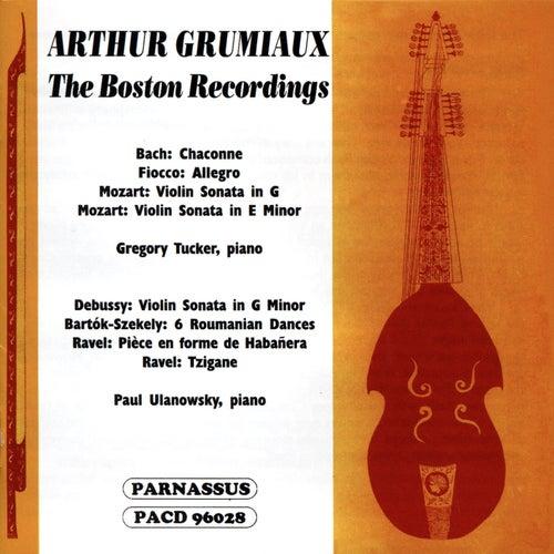 Arthur Grumiaux: The Boston Recordings von Arthur Grumiaux