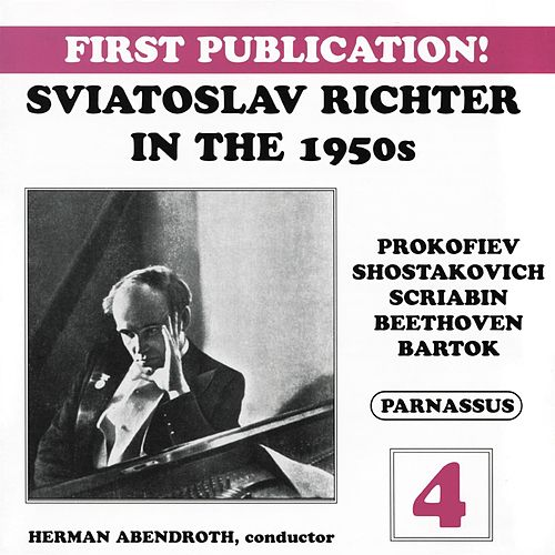 Sviatoslav Richter in the 1950s, Vol. 4 de Sviatoslav Richter