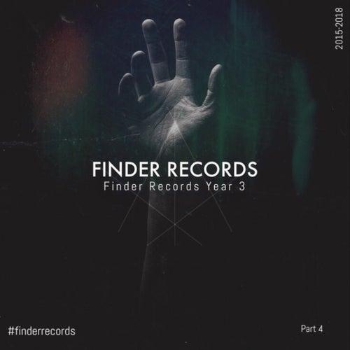 Finder Records 3 Year Part 4 de Various Artists