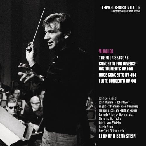 Vivaldi: The Four Seasons & Concertos RV 558, RV 454, RV 441 von Leonard Bernstein, Hildegard Behrens, Peter Hofmann, Yvonne Minton, Bernd Weikl, Hans Sotin, Symphonieorchester des Bayerischen Rundfunks