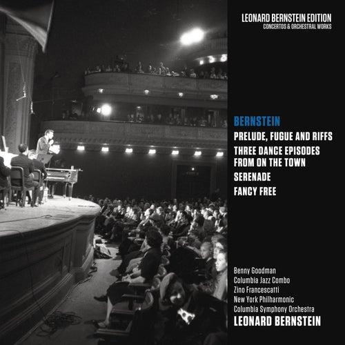 Bernstein: Prelude, Fugue and Riffs & Three Dance Episodes from 'On the Town' & Serenade & Fancy Free de Leonard Bernstein / New York Philharmonic