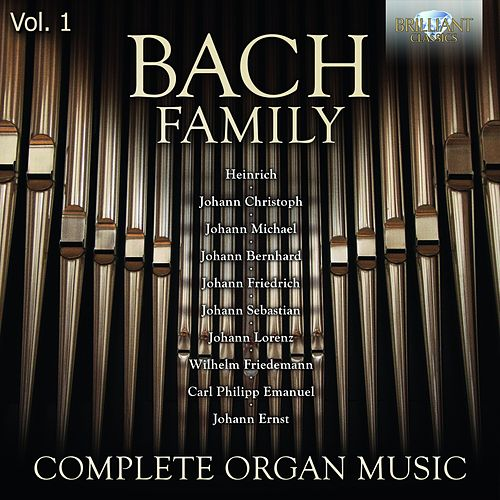 Bach Family: Complete Organ Music, Vol. 1 by Stefano Molardi