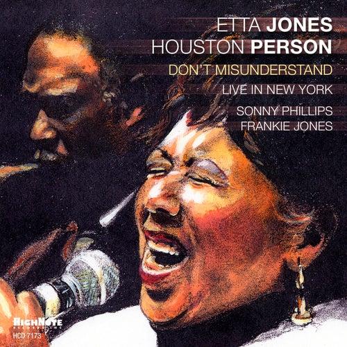 Don't Misunderstand (Live in New York) by Etta Jones