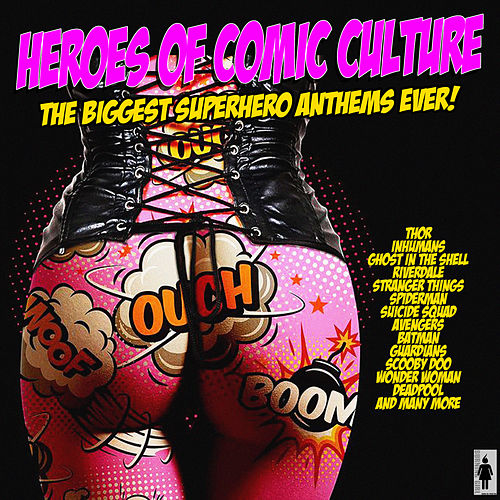 Heroes of Comic Culture de Various Artists