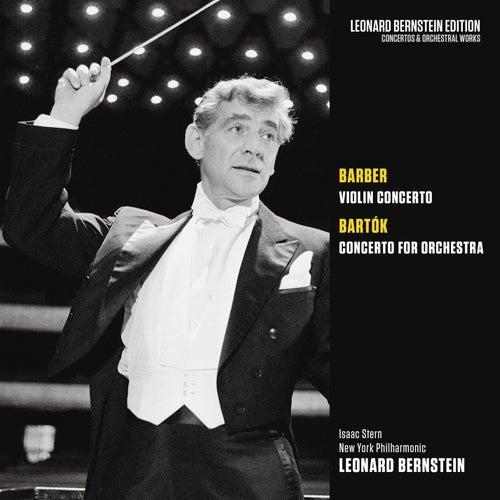 Barber: Violin Concerto, Op. 14 - Bartók: Concerto for Orchestra by Leonard Bernstein / New York Philharmonic