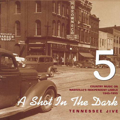 A Shot in the Dark - Tennessee Jive - Country Music on Nashville's Independent Labels 1945-1955, Vol. 5 by Various Artists