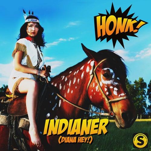 Indianer (Diana Hey) von Honk