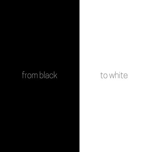 From Black to White by The Silence Noise