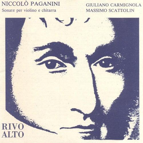 Paganini: Sonate per violino e chitarra by Giuliano Carmignola