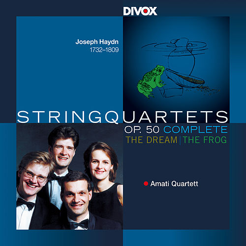 Haydn: String Quartets, Op. 50 by Amati Quartet