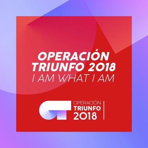 I Am What I Am (Operación Triunfo 2018) by Operación Triunfo 2018