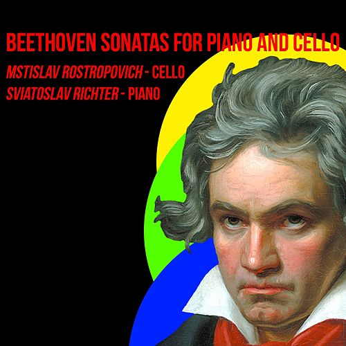 Beethoven / Sonatas For Piano & Cello de Mstislav Rostropovich