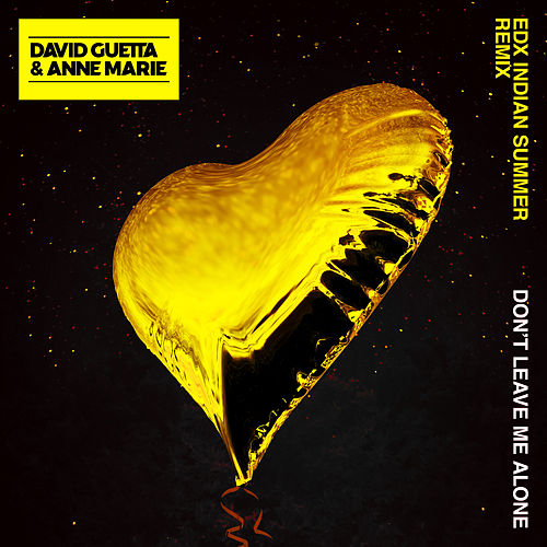Don't Leave Me Alone (feat. Anne-Marie) (EDX's Indian Summer Remix) van David Guetta