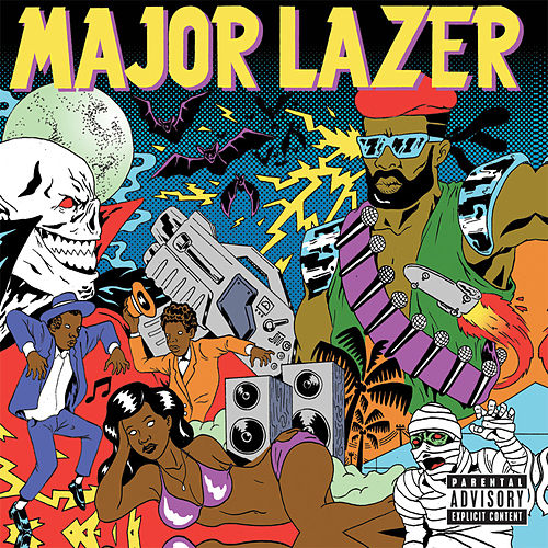 Guns Don't Kill People...Lazers Do ((Deluxe Edition)) by Major Lazer