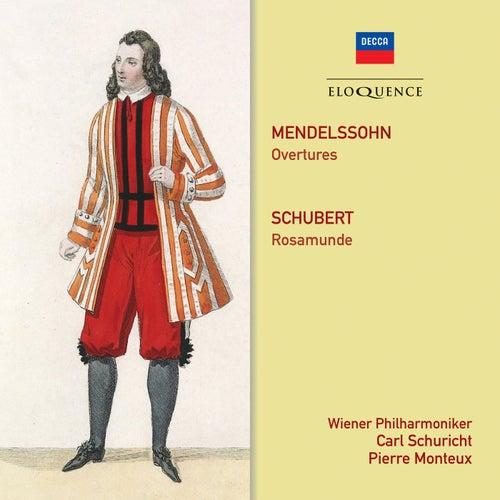 Mendelssohn: Overtures. Schubert: Rosamunde by Wiener Philharmoniker
