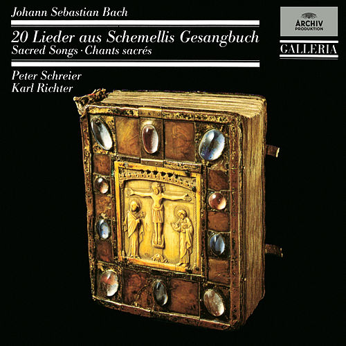 Bach 333: 20 Sacred Songs From Schemelli's Songbook von Peter Schreier