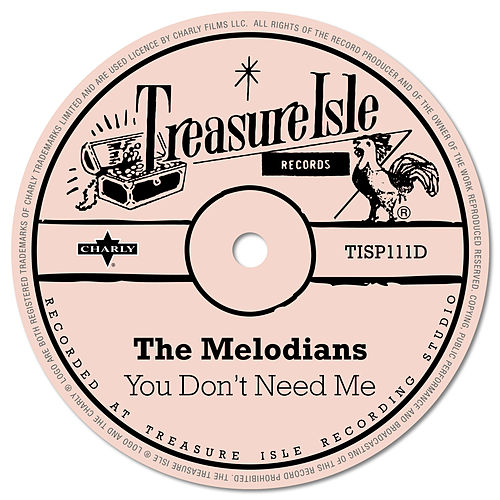 You Don't Need Me by The Melodians