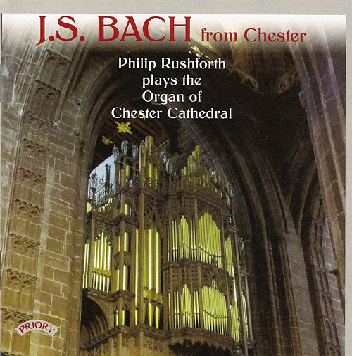 J.S. Bach from Chester de Philip Rushforth