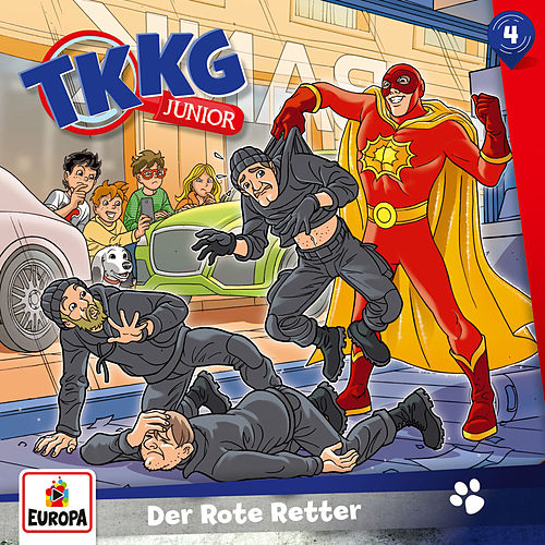 004/Der Rote Retter von TKKG Junior