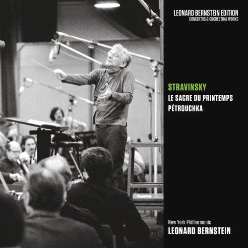 Stravinsky: Le Sacre du printemps & Pétrouchka von Leonard Bernstein
