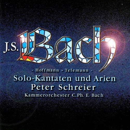 Bach, J.S, Hoffmann & Telemann: Solo Cantatas & Arias von Peter Schreier