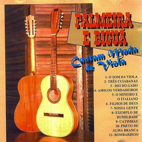 Cantam Moda de Viola de Palmeira e Biguá