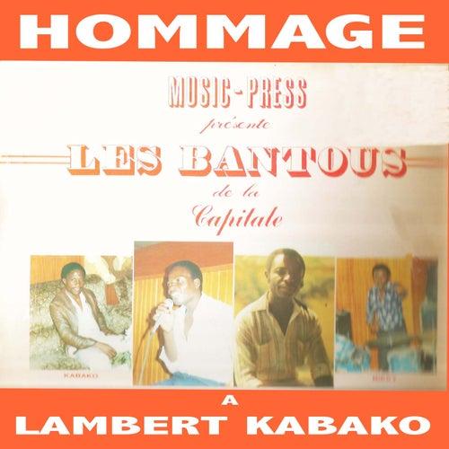 Hommage À Lambert Kabako by Les Bantous De La Capitale