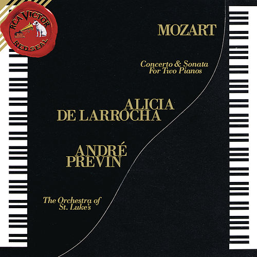 Mozart: Concerto for Two Pianos and Orchestra in E-Flat Major, K. 365 & Sonata for Two Pianos in D Major, K. 448 von André Previn