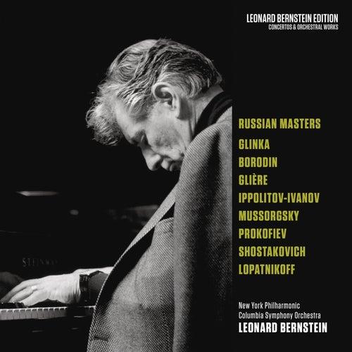 Bernstein Conducts Russian Masters von Leonard Bernstein, Hildegard Behrens, Peter Hofmann, Yvonne Minton, Bernd Weikl, Hans Sotin, Symphonieorchester des Bayerischen Rundfunks