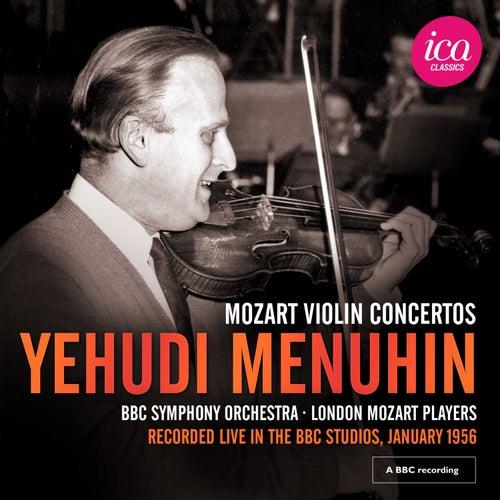 Mozart: Violin Concertos (Live) by Yehudi Menuhin