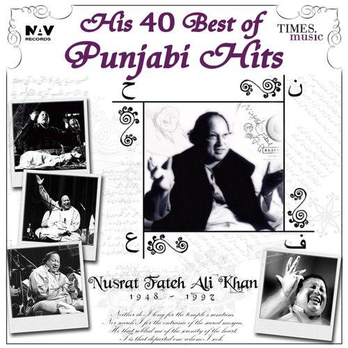 His 40 Best of Punjabi Hits de Nusrat Fateh Ali Khan