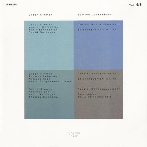 Edition Lockenhaus Vol. 4 & 5 by Gidon Kremer